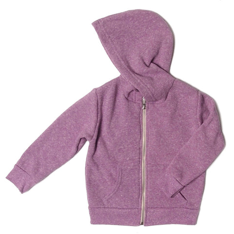 triblend infant hoodie lilac