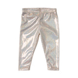 Infant leggings glam gold