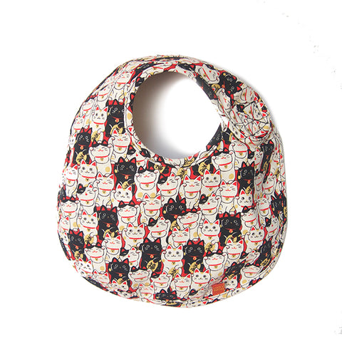 Bib Lucky Cat one size