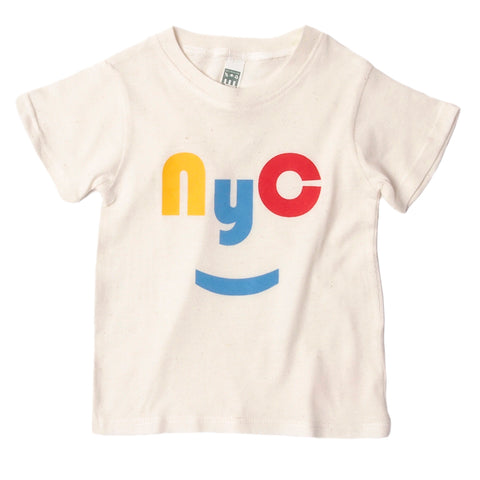 red/yellow NYC tee
