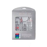 modern twist mark mat set  NY