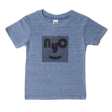 black nyc tri blend blue