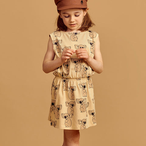 Mainio Koala dress semolina