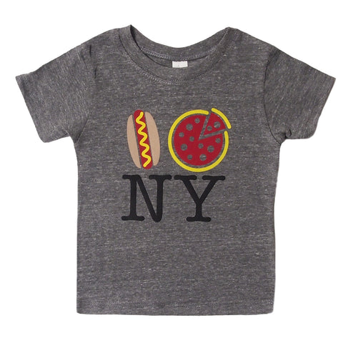 Pizza NY tri -blend toddler