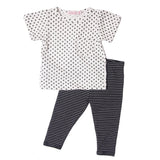 Swiss dots white s/s playset, limted