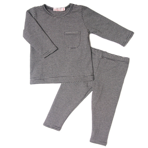 Mini stripes blk playset