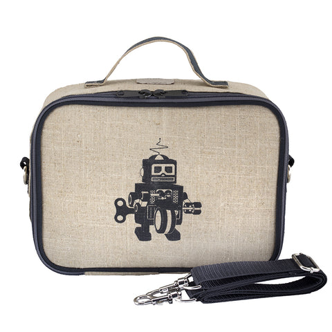 Lunch box robot grey