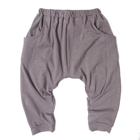 Sarouel pants jersey grey