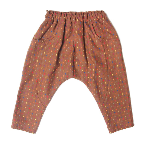 Sarouel pants sienna multi dots