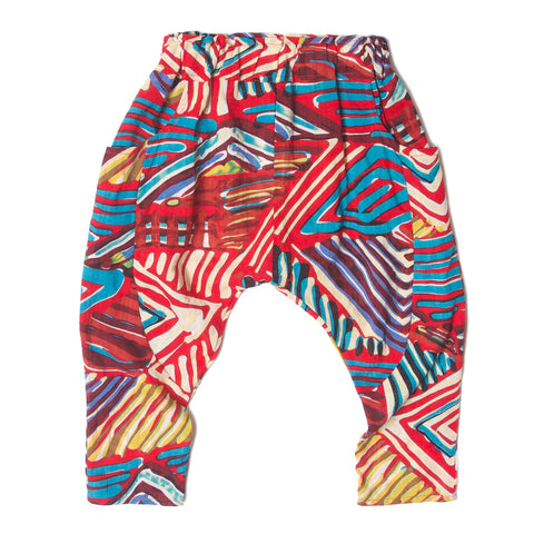 Sarouel Tribal Infant Pants Multi.