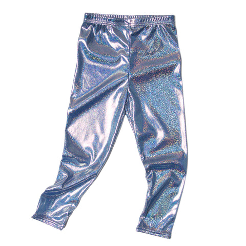 Glam blue toddler leggings