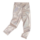 Glam gold toddler leggings
