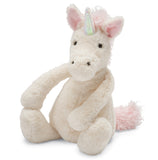 Jellycat bashful unicorn med