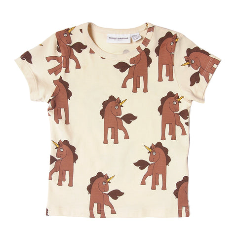 Mini Rodini Unicorn allover print tee