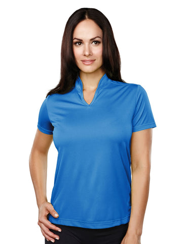 Tri-Mountain Womens Knit Polo Shirts 051