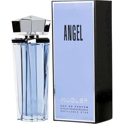 WOMEN EAU DE PARFUM SPRAY REFILLABLE 3.4 OZ ANGEL by Thierry Mugler
