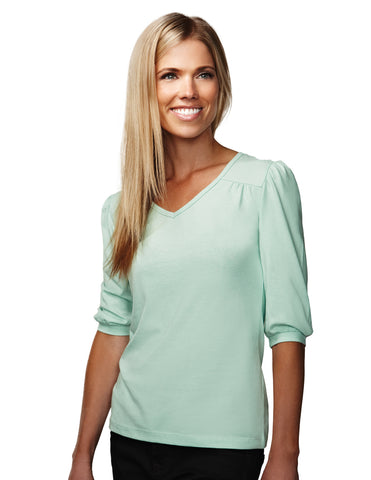 Tri-Mountain Torrance Women's V Neck Knit Shirt 137