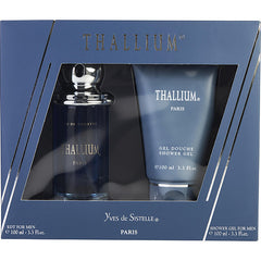 MEN EDT SPRAY 3.3 OZ & SHOWER GEL 3.3 OZ THALLIUM by Jacques Evard