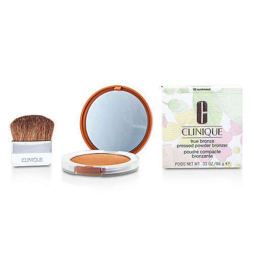 No. 02 Sunkissed  True Bronze Pressed Powder Bronzer  CLINIQUE by Clinique