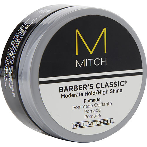 MEN MITCH BARBER'S CLASSIC MODERATE HOLD/HIGH SHINE POMADE 3 OZ PAUL MITCHELL MEN by Paul Mitchell