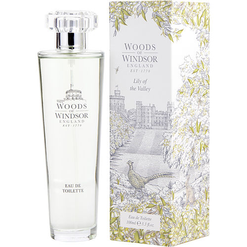 WOMEN EDT SPRAY 3.3 OZ WOODS OF WINDSOR LILY OF THE VALLEY by Woods of Windsor