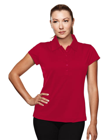 Tri-Mountain California Womens UltraCool Golf Shirt 221
