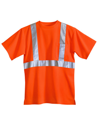 Tri-Mountain Boundary ANSI Class 2 Polyester Safety Shirt 222