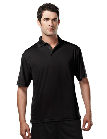 Tri-Mountain Campus Mens Poly UltraCool Golf Shirt 224