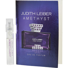 WOMEN EAU DE PARFUM SPRAY VIAL ON CARD JUDITH LEIBER AMETHYST by Judith Leiber
