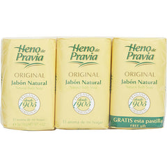 WOMEN SET OF 2 SOAPS PLUS 1 FREE AND EACH IS 4 OZ HENO DE PRAVIA by Parfums Gal