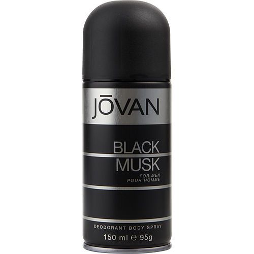 MEN DEODORANT BODY SPRAY 5 OZ JOVAN BLACK MUSK by Jovan