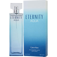 WOMEN EAU DE PARFUM SPRAY 3.4 OZ ETERNITY AQUA by Calvin Klein