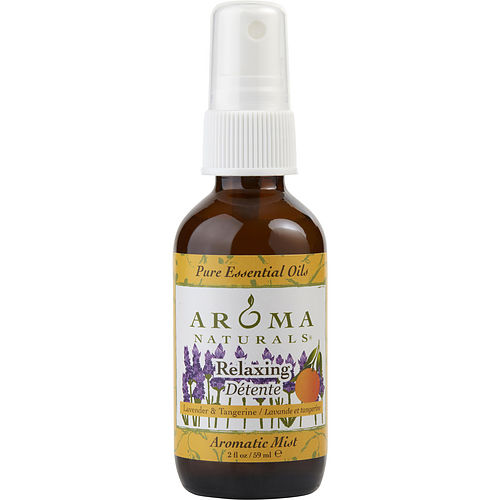 Unisex Aromatic Mist Spray 2 Oz That Reduces Stress. By Relaxing Aromatherapy