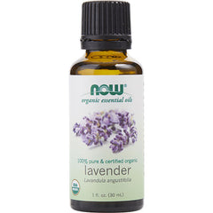 UNISEX LAVENDER OIL 100% ORGANIC 1 OZ ESSENTIAL OILS NOW by NOW Essential Oils