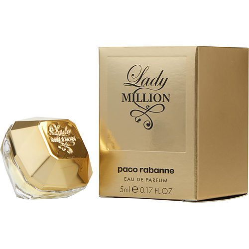 WOMEN EAU DE PARFUM .17 OZ MINI PACO RABANNE LADY MILLION by Paco Rabanne