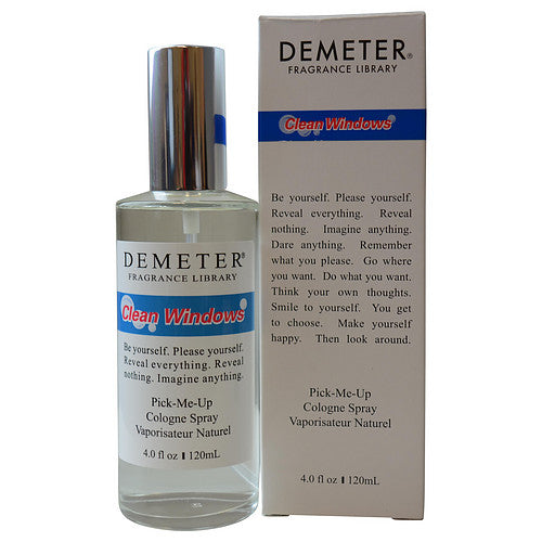 UNISEX CLEAN WINDOWS COLOGNE SPRAY 4 OZ DEMETER by Demeter