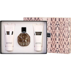 Women Eau De Parfum Spray 3.3 Oz & Body Lotion 3.3 Oz & Shower Gel 3.3 Oz By Jimmy Choo