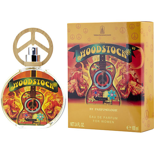 WOMEN EAU DE PARFUM SPRAY 3.4 OZ ROCK & ROLL ICON WOODSTOCK '69 by Perfumologie