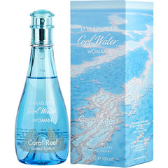 WOMEN EDT SPRAY 3.4 OZ (LIMITED EDITION) COOL WATER CORAL REEF by Davidoff