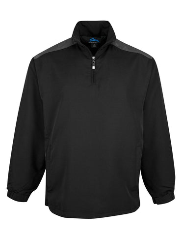 Tri-Mountain Windproof / Water Resistant 1/4 Zip Windshirt 2650