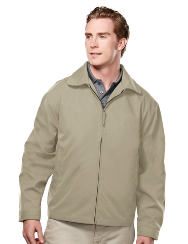 Tri-Mountain Avenue Mens Soft Twill Jacket Nylon Lining 2990