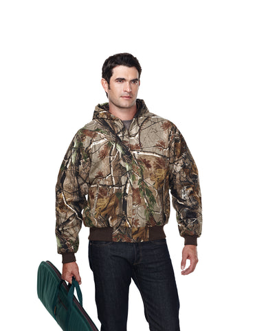 Tri-Mountain Timberline Camo Heavyweight Work Jacket Realtree Pattern 4686C