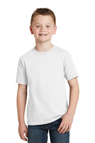 Hanes © - Youth EcoSmart 50/50 Cotton/Poly T-Shirt. 5370