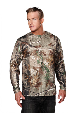 Tri-Mountain Force Camo UltraCool Long Sleeve Realtree Shirt 622C