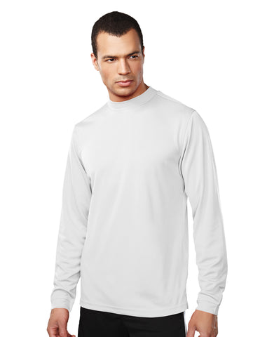 Tri-Mountain Heron Men's Long Sleeve Mock Neck Shirt 626