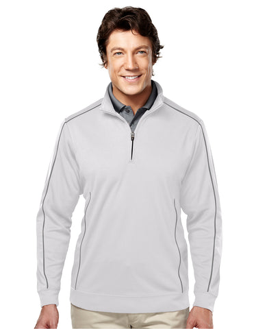 Tri-Mountain Durham Mens Long Sleeve Knit Shirt 627