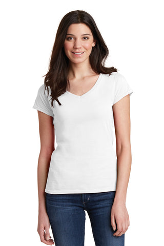 Gildan Softstyle Women's Fit V-Neck T-Shirt. 64V00L