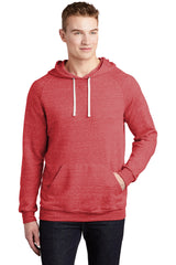 JERZEES Snow Heather French Terry Raglan Hoodie 90M
