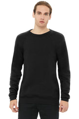 BELLA+CANVAS Unisex Sponge Fleece Raglan Sweatshirt. BC3901