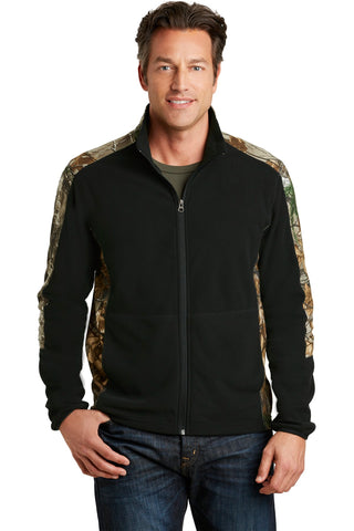 Port Authority Camouflage Microfleece Full-Zip Jacket. F230C